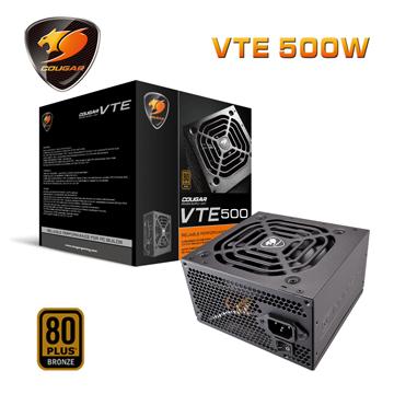 COUGAR  VTE 500 (80Plus銅牌) 1