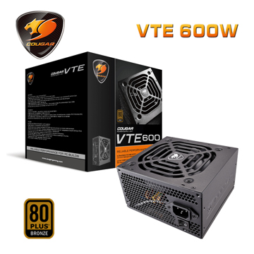 COUGAR  VTE 600 (80Plus銅牌) 1