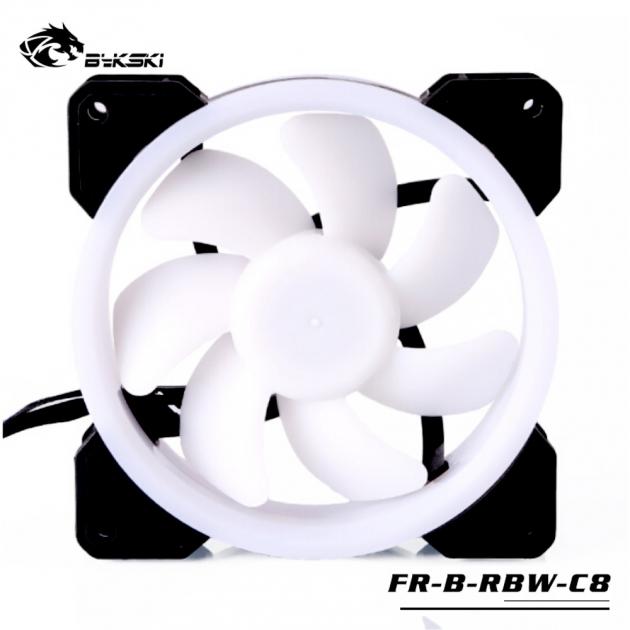 光圈風扇LED炫光RBW幻彩12CM散熱風扇 1