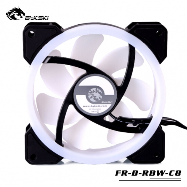 光圈風扇LED炫光RBW幻彩12CM散熱風扇 2