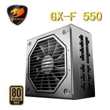 COUGAR GX-F 550 (80-PLUS金牌) 1