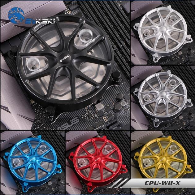 CPU-WH-X (INTEL)(黑 / 藍 / 紅 / 銀 / 槍 / 金 可選) 1
