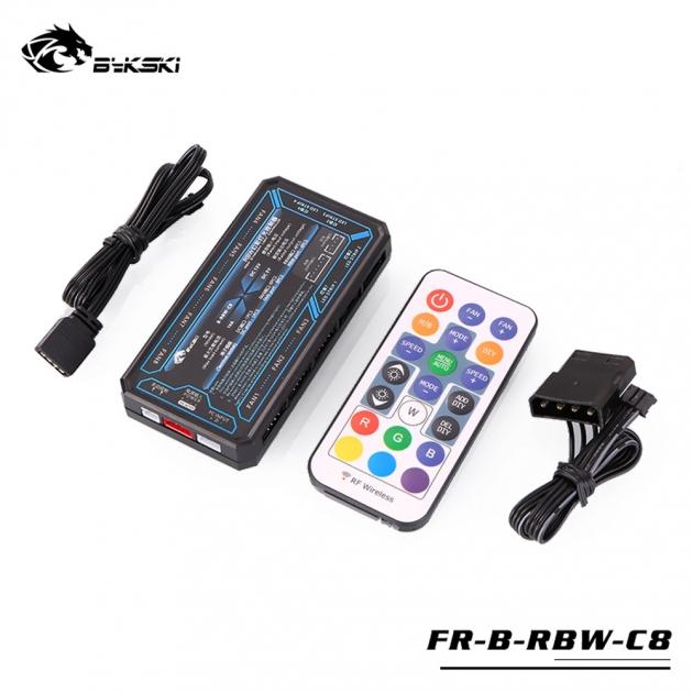 風扇 控制器 + 搖控器 (支援主機板 5V RGB) 1