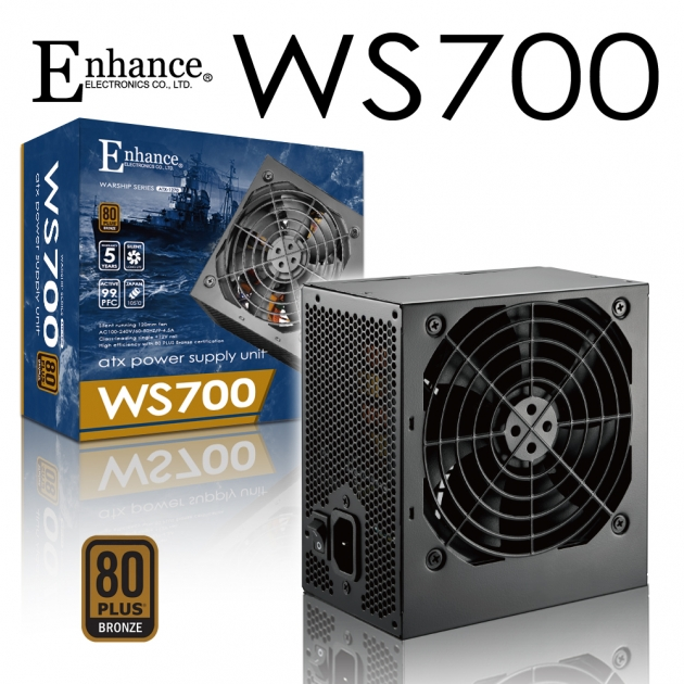 Enhance WS 700 (80Plus銅牌) 1
