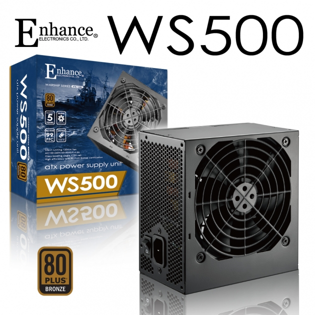 Enhance WS 500 (80Plus銅牌) 1